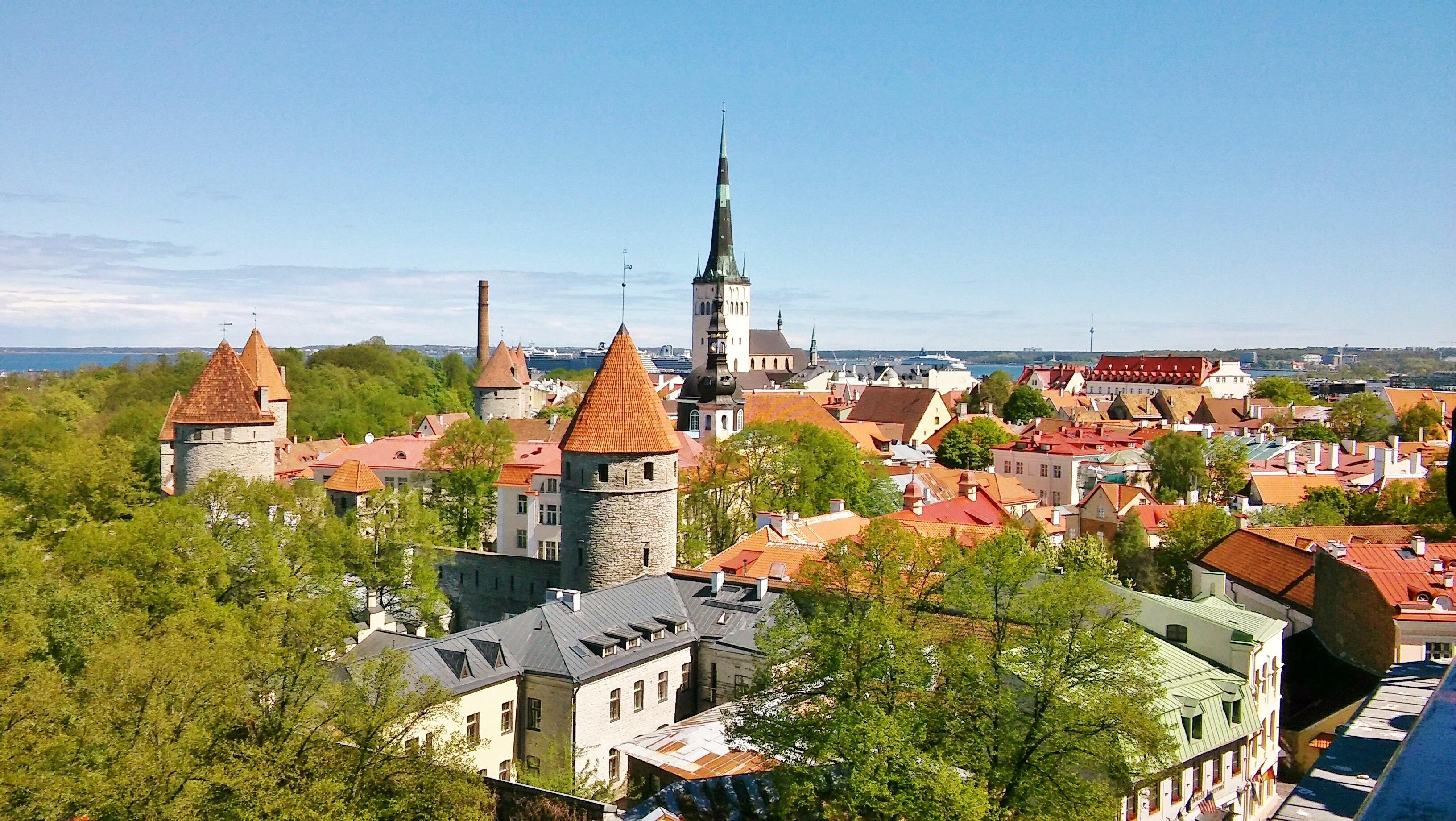 Tallinn viewpoint, Estonia