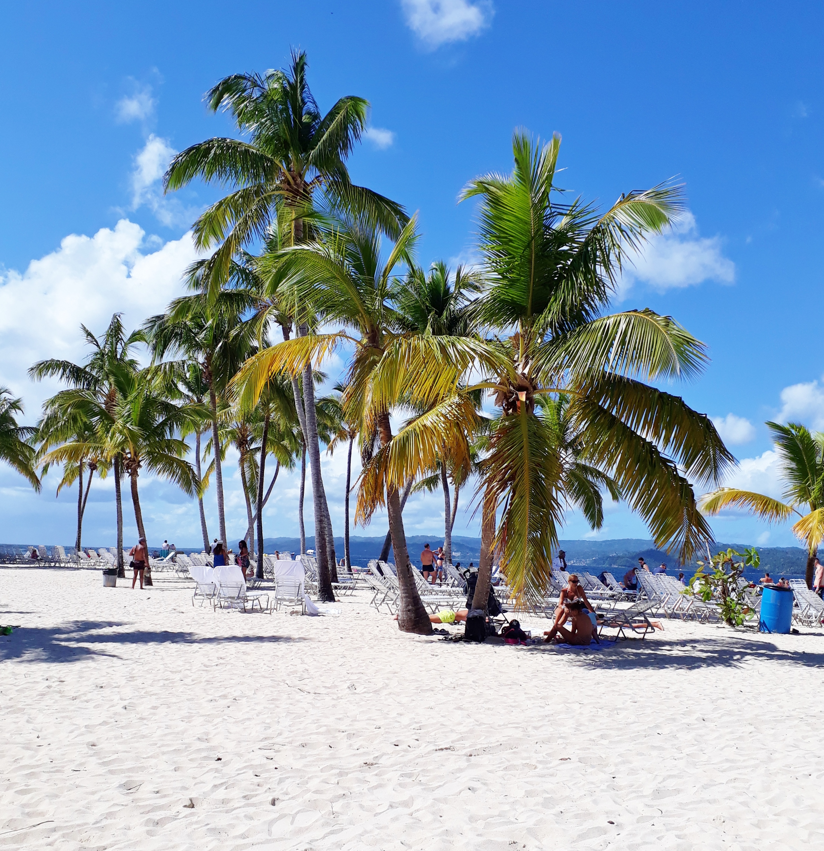 White sand beach, Cayo Levantado, Dominican Republic