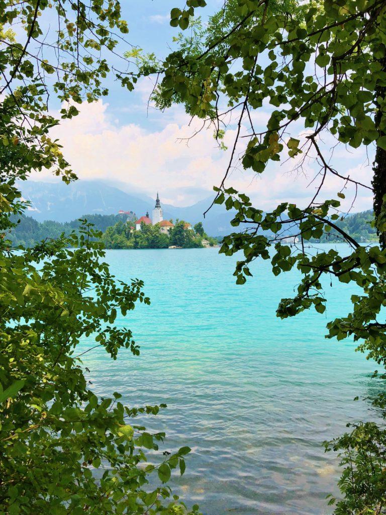 Reachinghot visiting Lake Bled, Slovenia