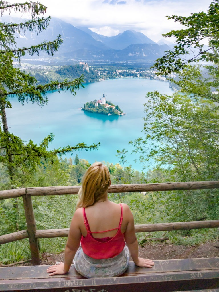 Viewpoint of Lake Bled, Slovenia