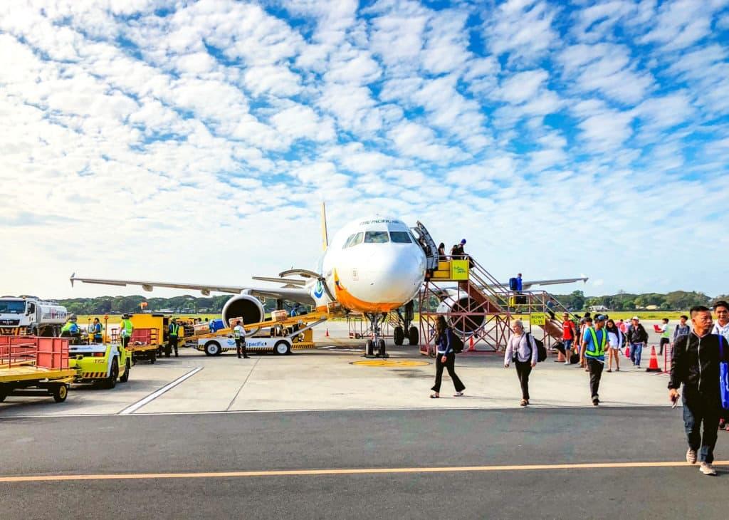 Puerto Princesa airport, Palawan, Philippines