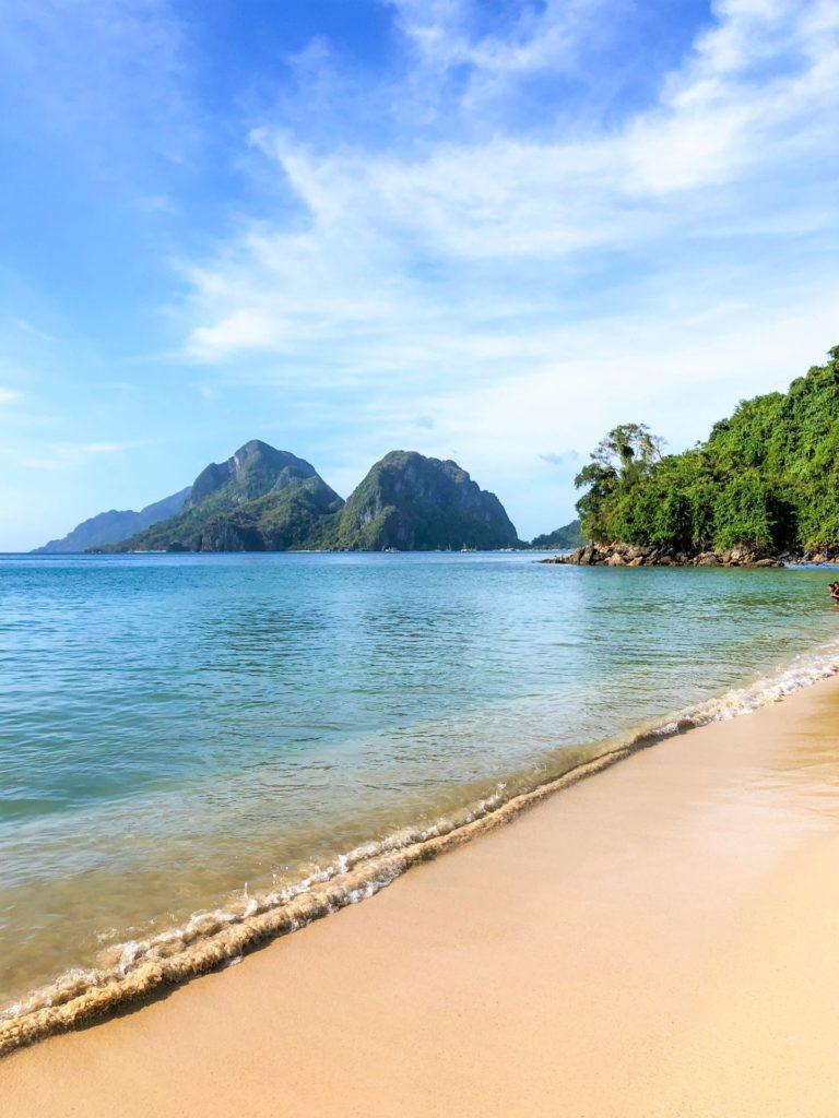 Las Cabanas beach El Nido, Philippines