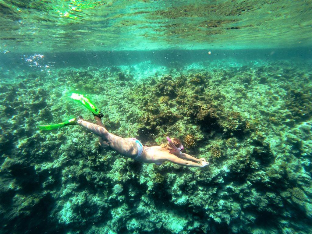 Snorkeling in El Nido, Philippines