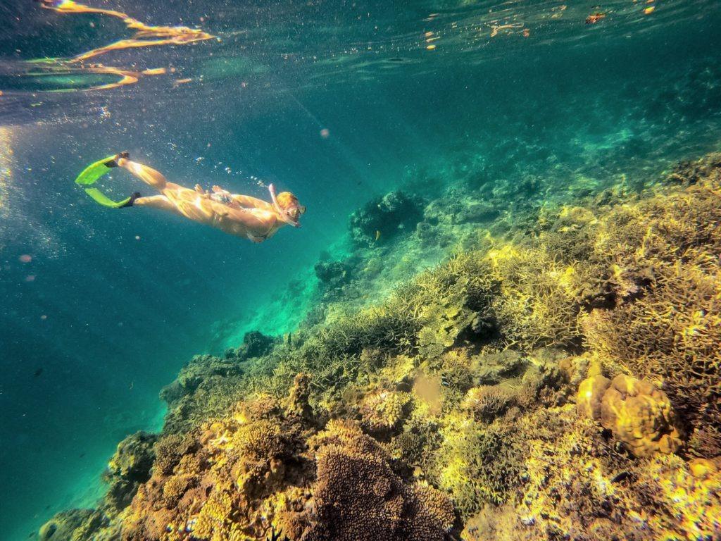 Snorkeling in El Nido, Palawan, Philippines