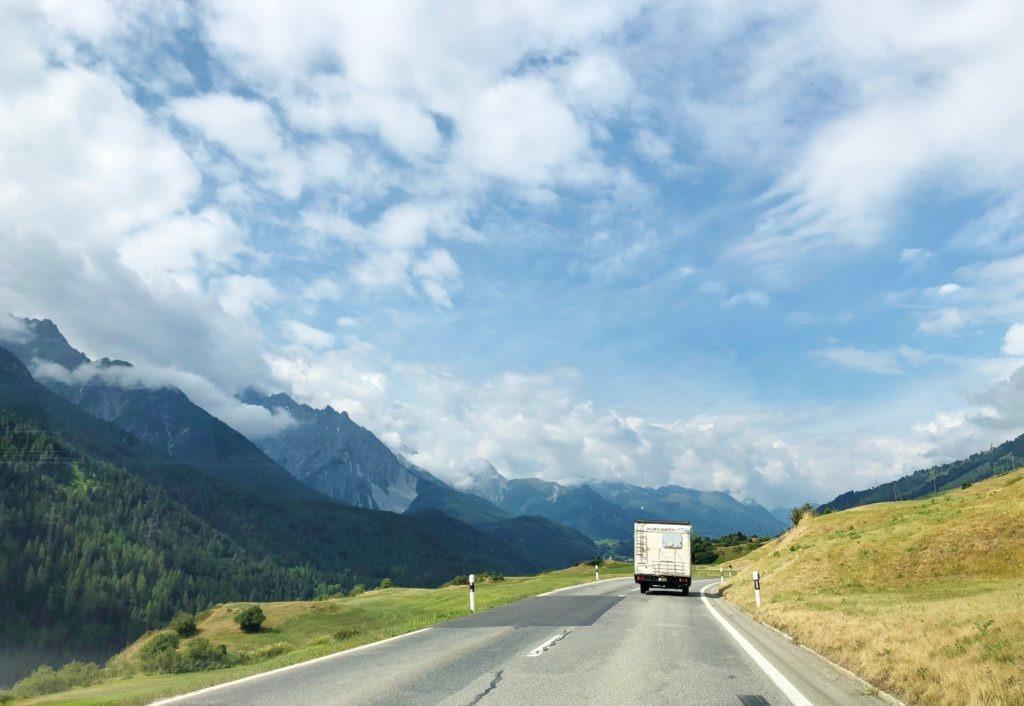 Road trip in Europe