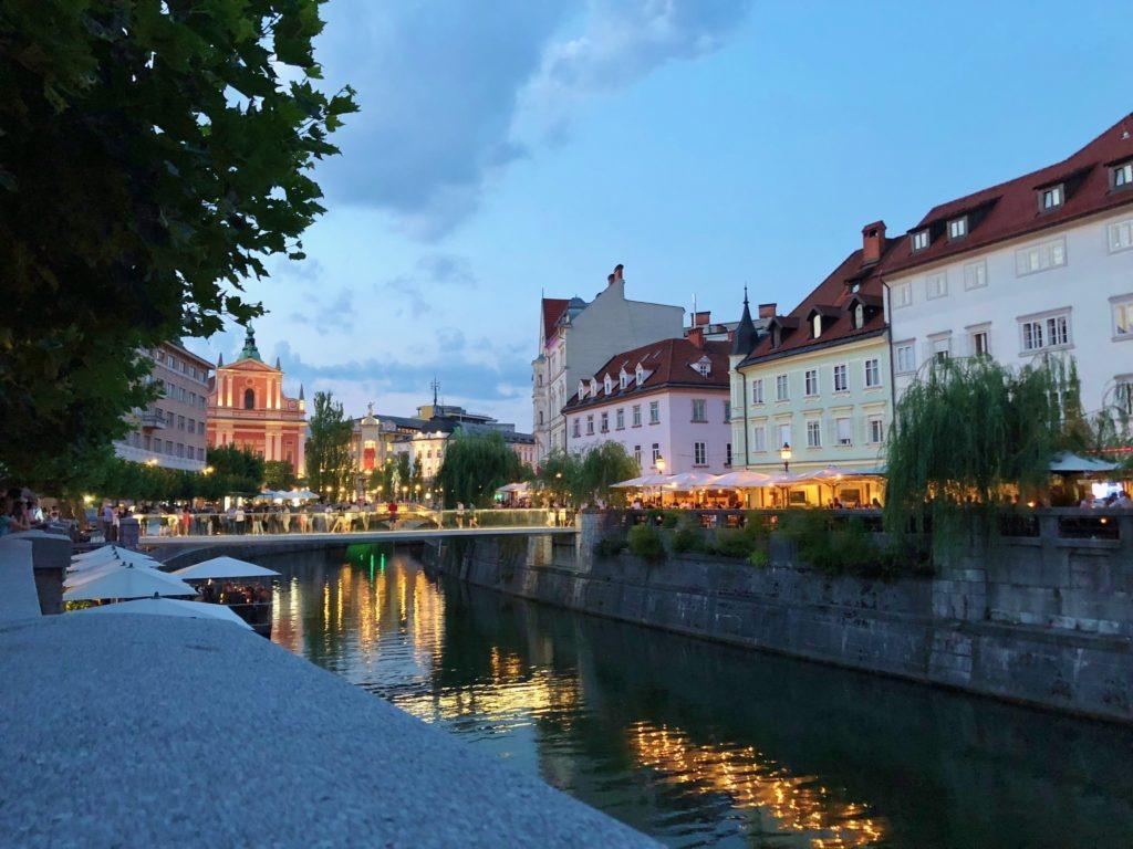 Old Town of Ljubljana, Slovenia
