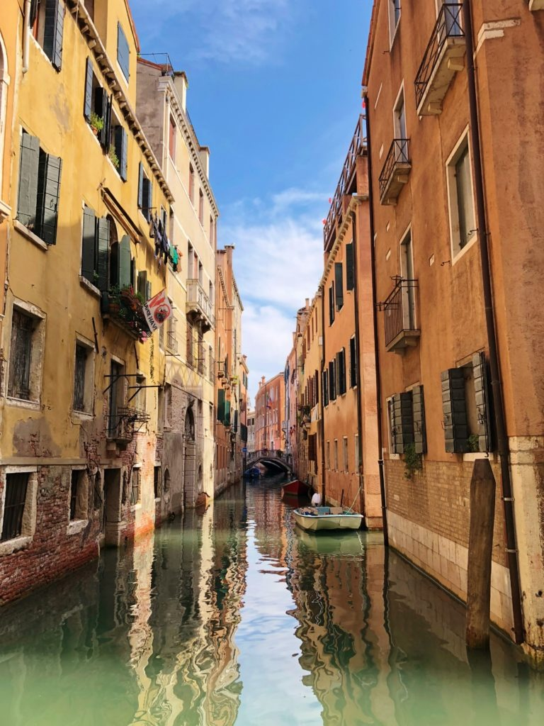 Amazing canals of Venice, Italy