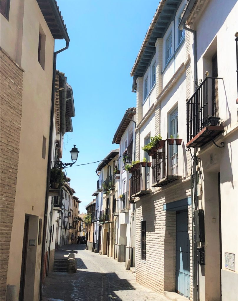 Streets of Albaicín, Granada