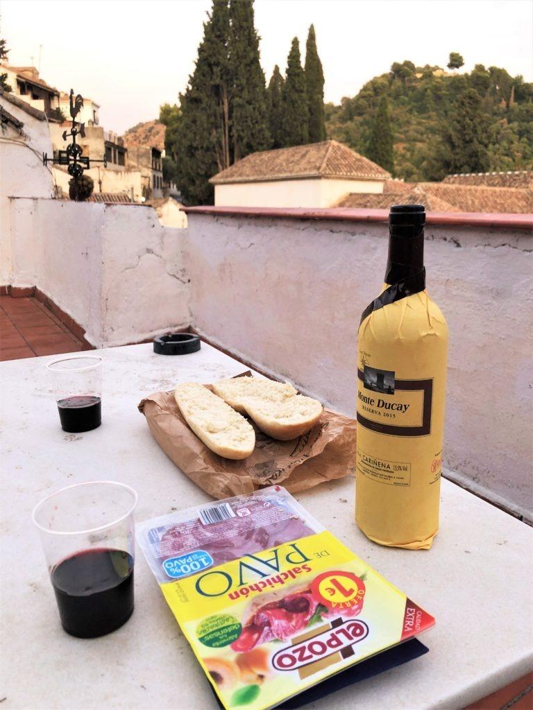 Albaicin rooftop, Granada