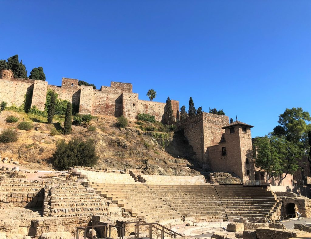 Roman Theatre and Alcazaba fortress