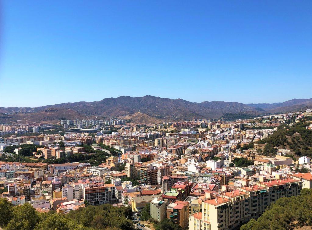 Gibralfaro castle in Malaga