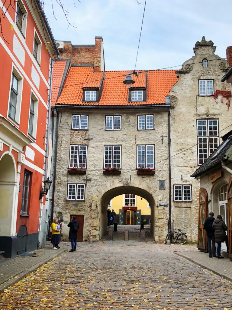 Swedish gate, Riga Old Town, Latvia