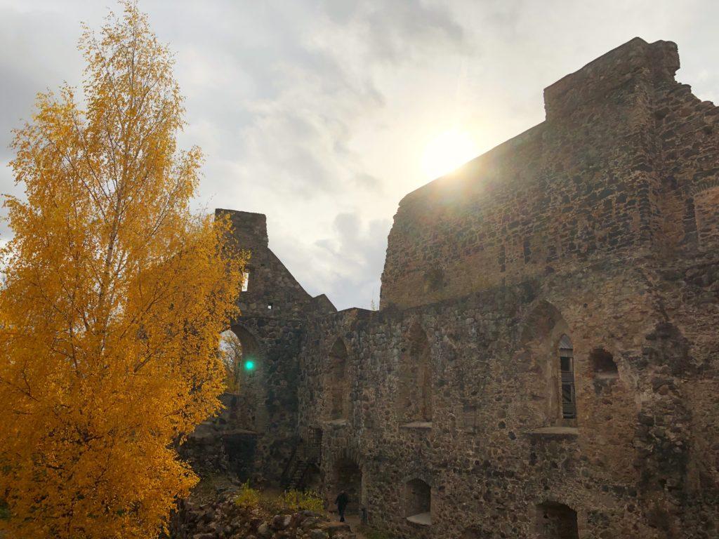 Sigulda castle in Sigulda, Latvia