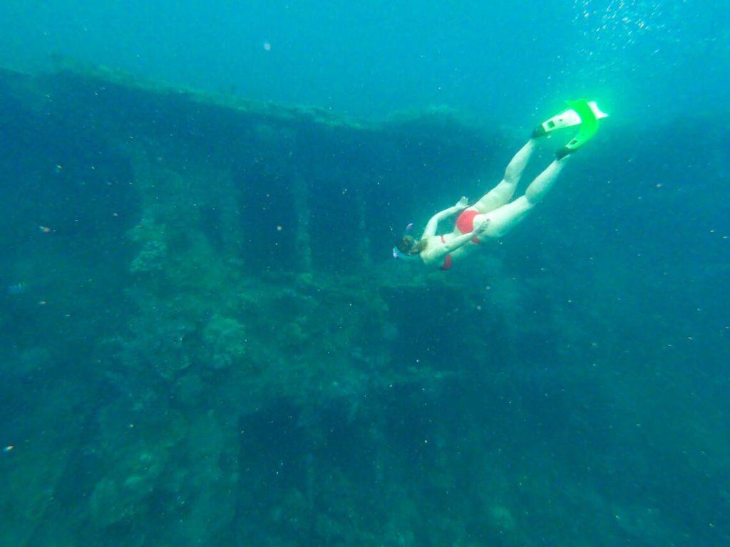 Ship wreck in Coron, Palawan