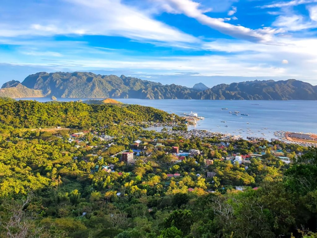 Coron viewpoint