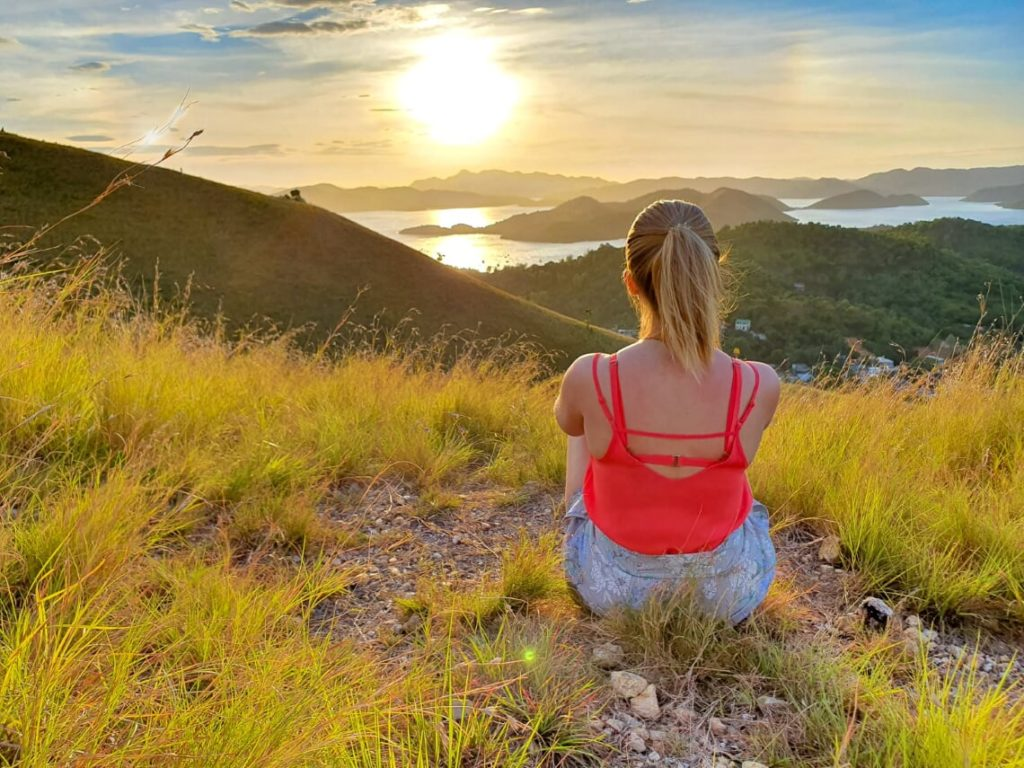 Coron viewpoint, Philippines