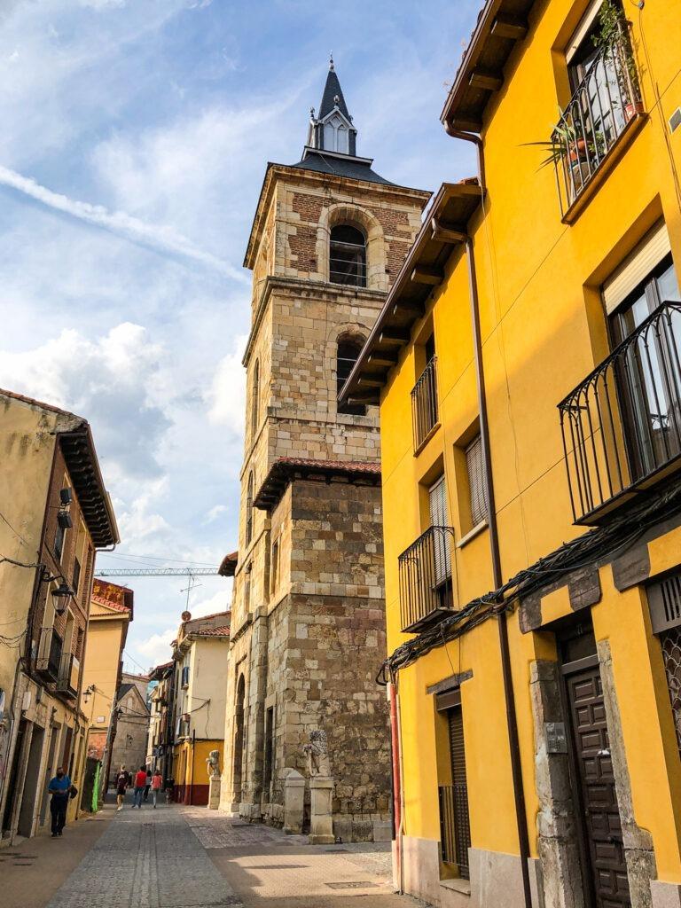 Streets of León, Spain